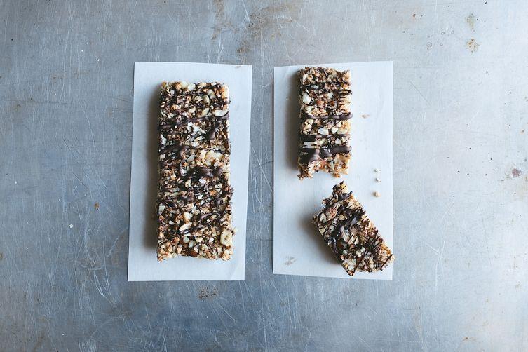 Salted Dark Chocolate Nut Bars on Food52