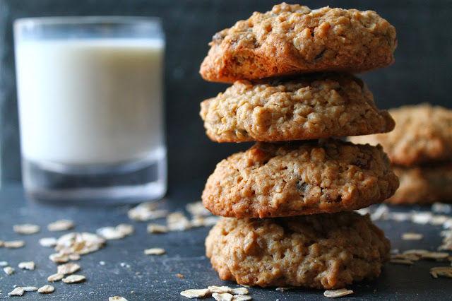 Sea Salt, Golden Raisin and Oatmeal Cookies