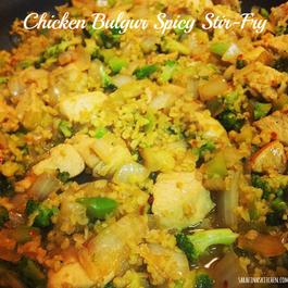 Chicken-bulgur