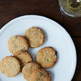 Fig and Rosemary Cocktail Cookies
