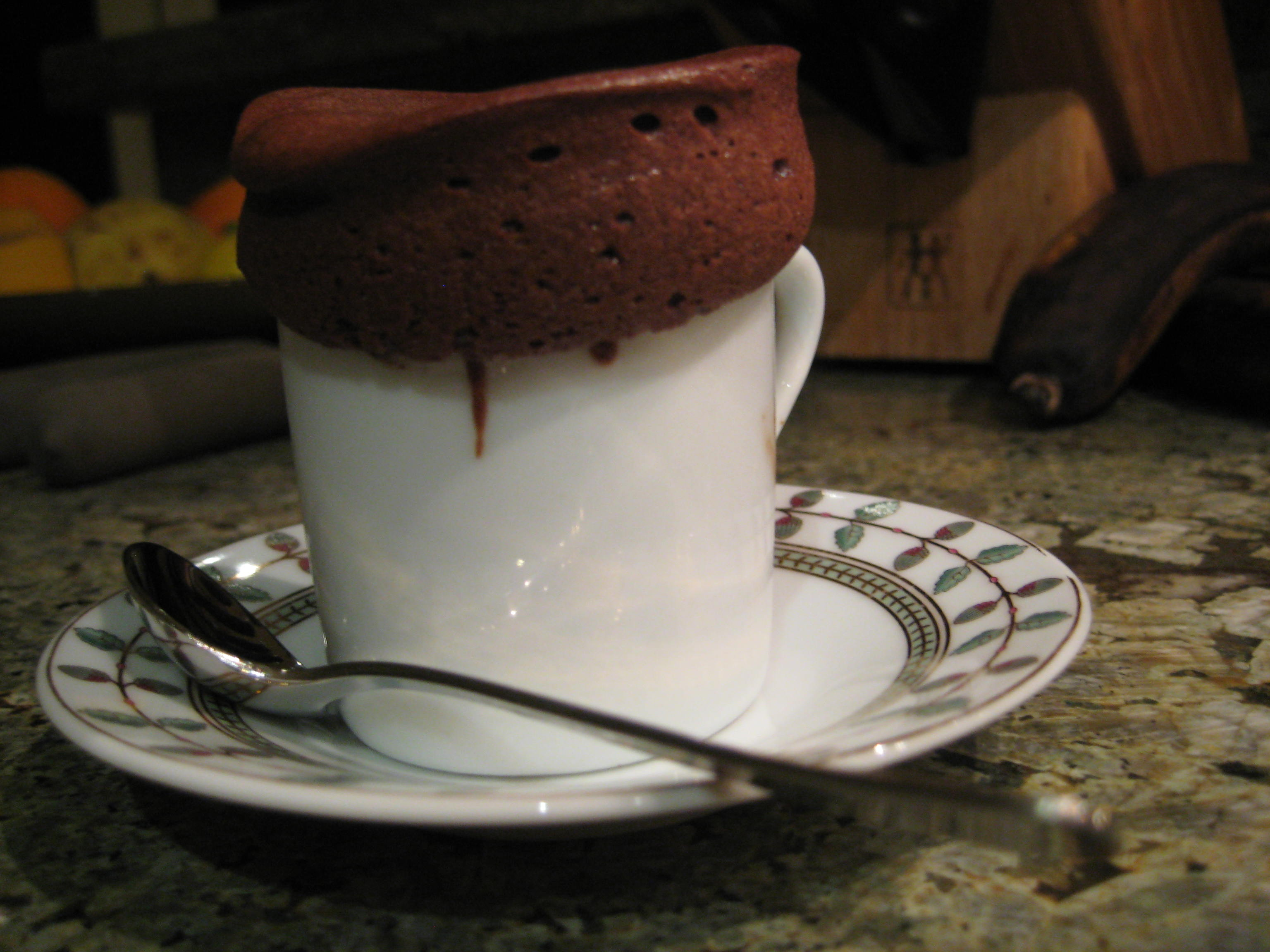Baby Hot Chocolate w/ Chile