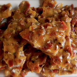 Spicy Bacon Pecan Brittle
