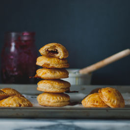 Cranberry Brie Puff Pastries