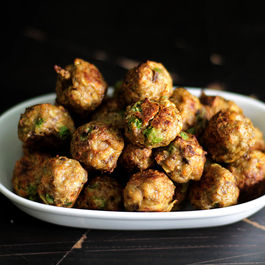 Chickapea homemade meatballs for DOGS
