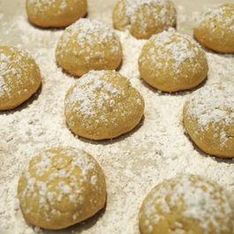 Mexican Wedding Cookies (Polvorones) (Vegan)