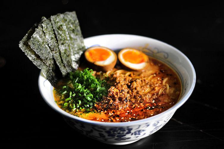 spicy miso pork ramen noodles instant ramen noodles have ramen ...