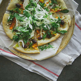 Pizza Flatbreads by KSanJose