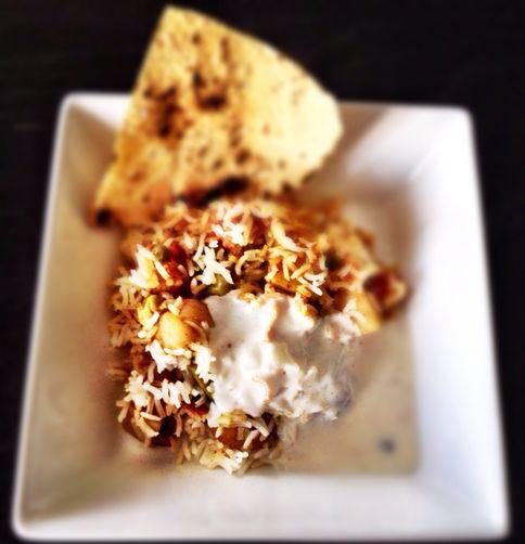 Vegetarian Biryani (Pilaf)