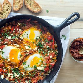Shakshouka with Harissa