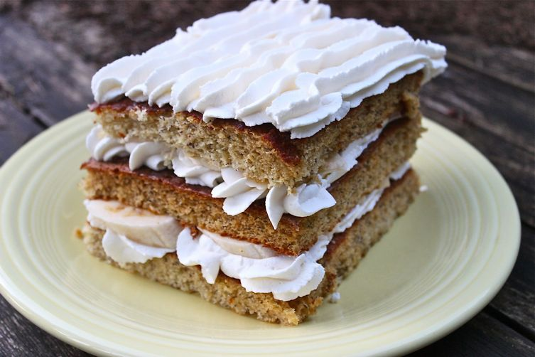 Bavarian Banana Cake