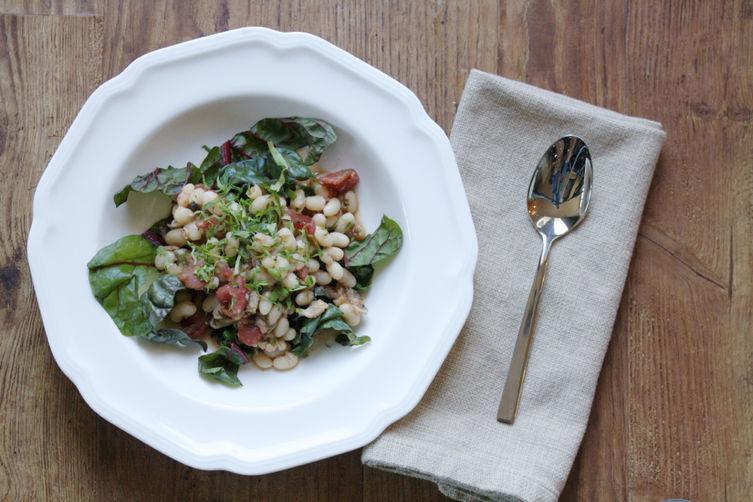 Italian-Texan White Bean Stew