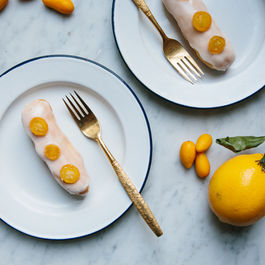 Meyer Lemon Eclairs