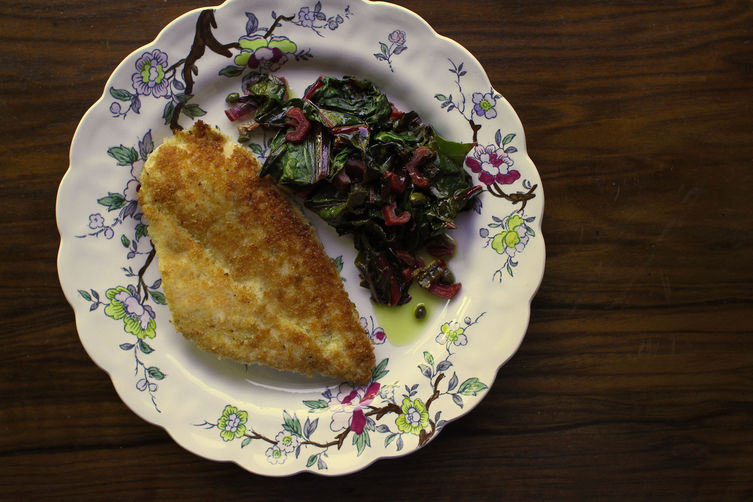 Chicken cutlet from Food52