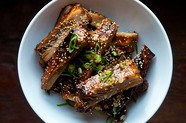 Chinese Style Honey Hoisin Sticky Ribs