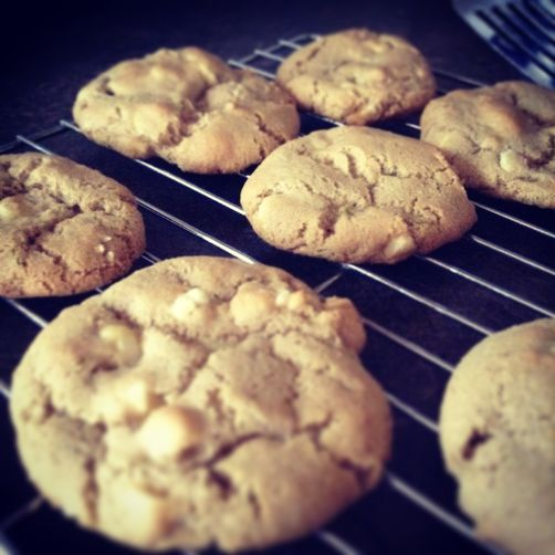 Lime & White Chocolate Olive Oil Cookies