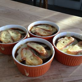 French Onion Soup with Coffee