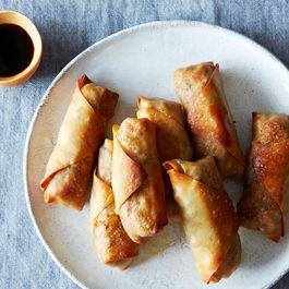 Baked Tofu and Vegetable Egg Rolls