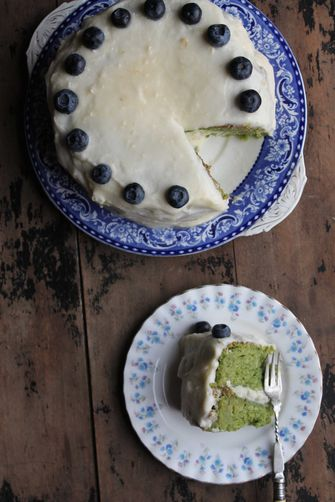 Kale and Apple Cake