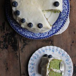 Kaleapple-cake