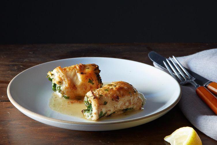 Chicken kiev from Food52