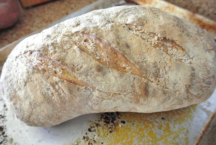 Pane d' Altamura (rustic italian bread)