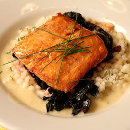 Salmon_with_swiss_chard_and_coucous