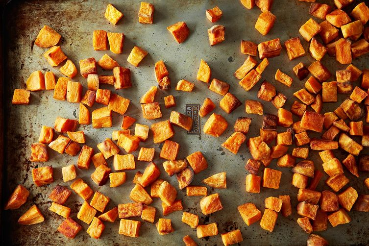 Sweet Potatoes in Coconut Oil on Food52