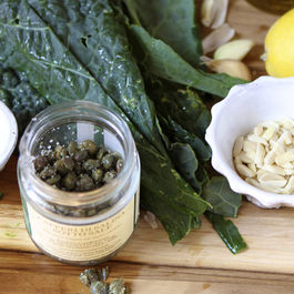 Ingredients-kale-pesto