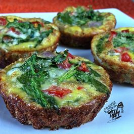 Plantain Crusted Egg Cups