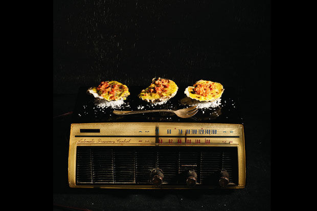 Hot Oysters on the Radio