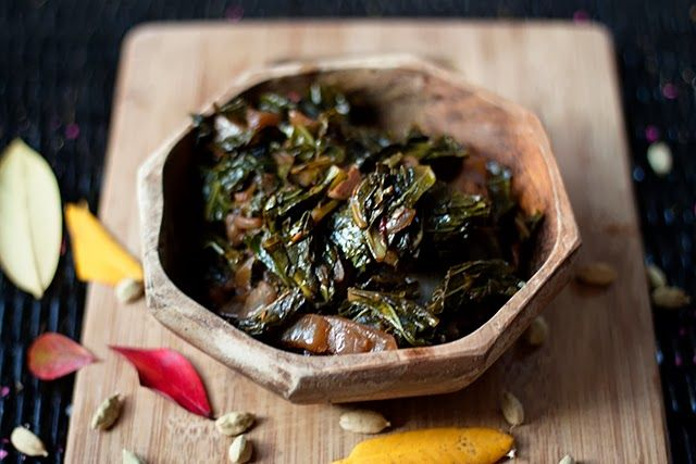Gomen Wat: Ethiopian Spiced Collards