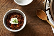Slightly Smoky Mixed-Bean Chili