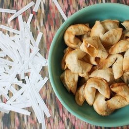 Toasted Almond Fortune Cookies