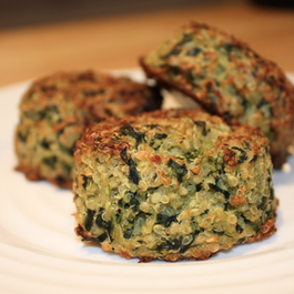 Green Quinoa Patties