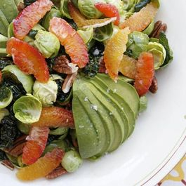 Raw Brussels Sprouts Salad with