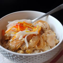 Chicken-and-Egg Rice Bowl