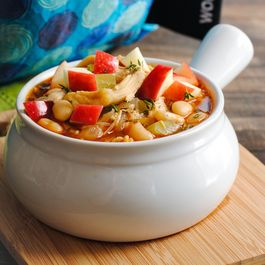 Chicken & Apple Cider Chili
