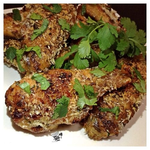 Coconut Cilantro Chicken Wings