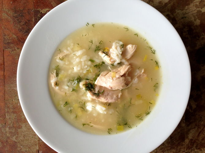 Lemon Chicken Soup With Rice Recipes — Dishmaps
