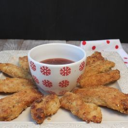 Cracker Cornmeal Chicken Fingers