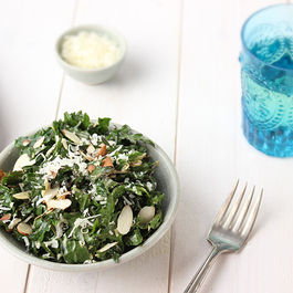 Toasted-sesame-kale-salad