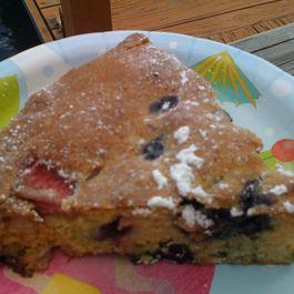 Last Berries of Summer Cake