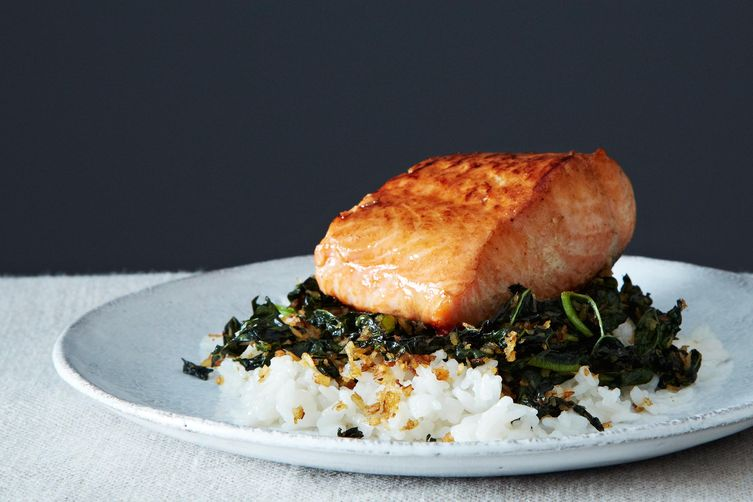 Coconut salmon from Food52