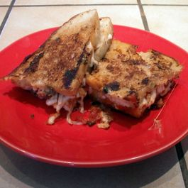 Grilled Cheese & Anchovy Pannani