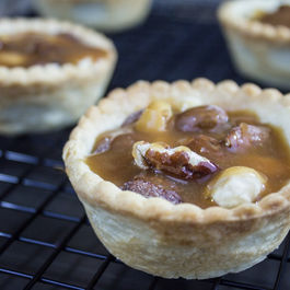 Almond Amaretto Tarts