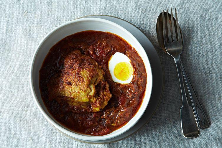 Ethiopian-Inspired Spicy Chicken Stew