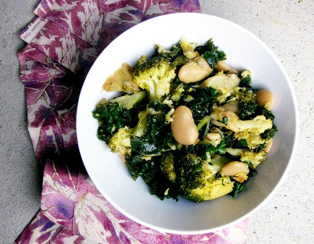 Detox Broccoli Bean Salad