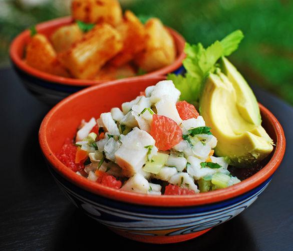 Panamanian fish ceviche recipe on food52 for Fish ceviche recipe