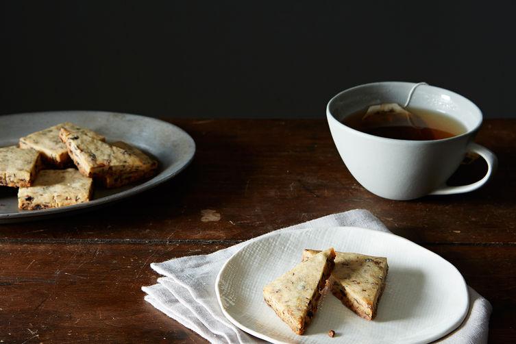 Currant-Caraway Shortbread