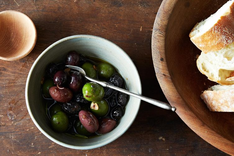 Olives in Anchovy Oil on Food52